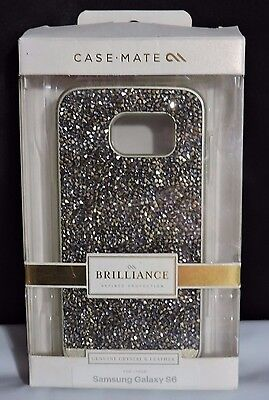 NEW!! Case-Mate Brilliance Phone Case for Samsung Galaxy S6 - Champagne