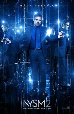 NOW YOU SEE ME 2 MOVIE POSTER 1 Sided ORIGINAL 27x40 MARK RUFFALO