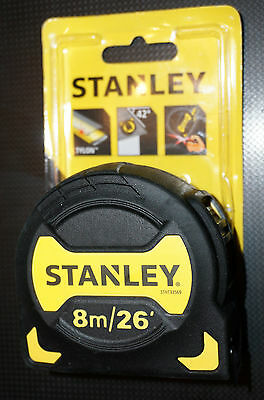 Stanley Tape Measure 8m 26ft STHTO-33569