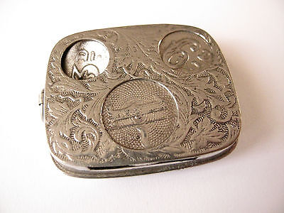 Antique Sovereign Holder Made in England #1 - Free Postage