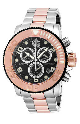 Invicta Sea Base 17992 Mens 50mm Stainless Steel, Rose Gold Quartz Watch
