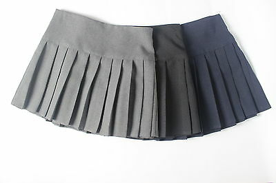 Britney School Uniform Pleated Skirts For Girls And Ladies