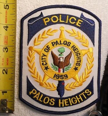Palos Heights Illinois Police Patch (Highway Patrol, Ems, Police, Sheriff)