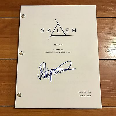 JANET MONTGOMERY SIGNED SALEM FULL 63 PAGE PILOT SCRIPT w/ EXACT PROOF PHOTO