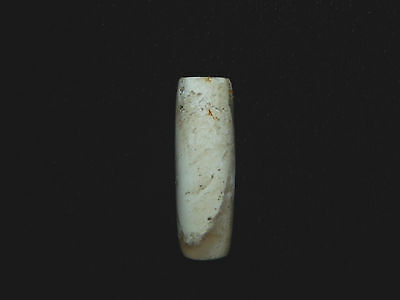 Pre-Columbian Tubular Stone Bead,  Authentic, Costa Rica