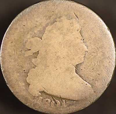 1801 Draped Bust Dime Almost Good
