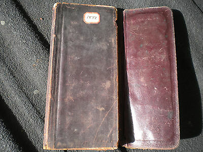 Antique Collectible Year of 1899 Leather Excelsior Diary of a Doctor