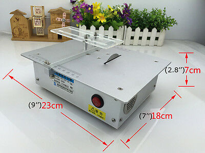 Mini Electric Bench Saw Portable Hand Cutting Wood Machine For Diy Woodworking
