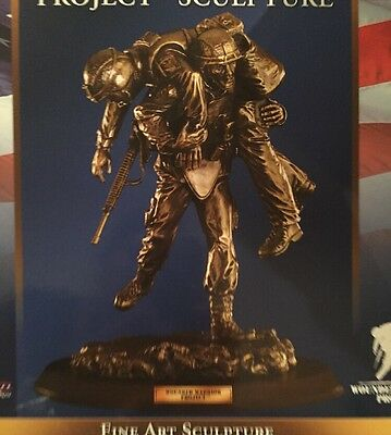 Franklin Mint Wounded Warrior Project Sculpture by Steven Voitko