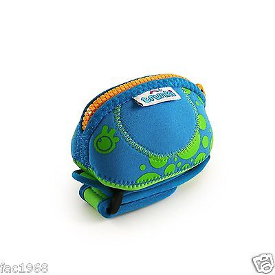 Trunki Wrist Purse Travel Hand Luggage Kids Children Sweet Holder Blue New