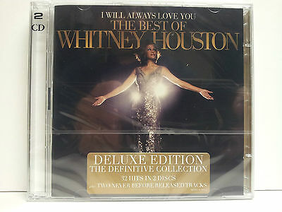 Whitney Houston-The Best Of- 2Cd -13/11/2012-Nuevo-Precintado De Fabrica-Sealed