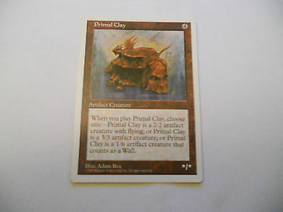 1x MTG Primal Clay-Argilla Primordiale Magic EDH 5th Quinta ed Base ING x1