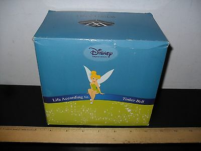 New! Disney Impressions Life According To Tinker Bell Admiring Butterfly # 18544