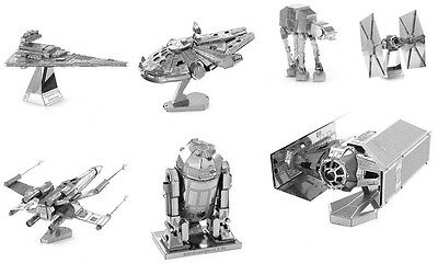 DIY Toys Star Wars Puzzle Star Trek Puzzle Models Metal Construction 3D Puzzle