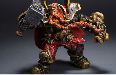 WOW World of Warcraft Series 6 Dwarven King Magni Bronzebeard PVC Action Figure