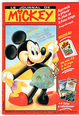 LE JOURNAL DE MICKEY n°1984 ¤ 1990 ¤ LAGAF / + MINI-BD n°1