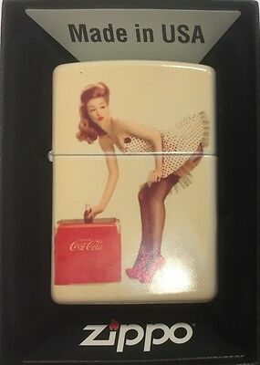 Printed  Zippo Lighter  Coca Cola ( any image can be printed)