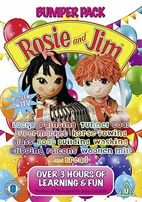 Rosie & Jim Bumper Pack 1 [Dvd] Toy Play Platform Entertainment Limited New UK S