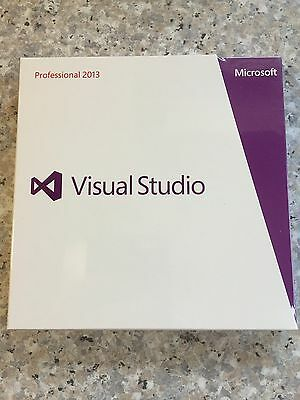 Microsoft Visual Studio Professional 2013, DVD, Win, Deutsch mit MwSt-Rechnung