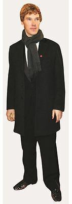 Benedict Cumberbatch Cardboard Cutout (life size OR mini size). Standee Stand Up