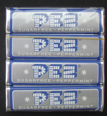 European Pez Sugarfree Peppermint 4 Candies Candy Pack