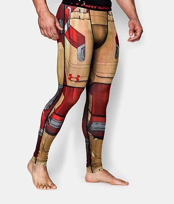 Compression pants leggings Under Armour Alterego Ironman palestra crossfit