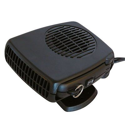 12V Car Auto Heater Defroster Demister And Fan Cooler With LED Torch Light