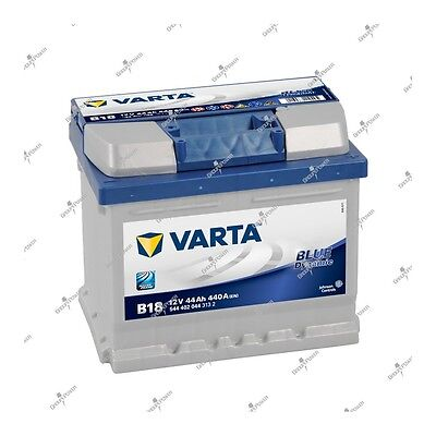 Batterie voiture Blue Dynamic Varta B18 12V 44ah 440A 544402044 207x175x175mm