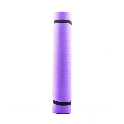 Promotiono Yoga Mat Exercise Pad 6MM Thick Non-slip Gym Fitness Pilates Supplies