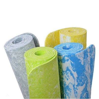 TPE 6 mm Non-Slip Yoga Mat Exercise Fitness Mat Lose Weight Eco-friendly TPE Yog