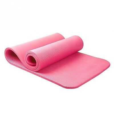 10mm Thick exercise Yoga Mat Pad Non-Slip Lose Weight Exercise Fitness folding g