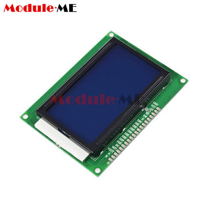 5Pcs 5V 12864 LCD Display Module 128x64 Dots Graphic Matrix LCD Blue Backlight M