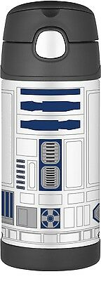 Thermos FUNtainer Stainless Steel Vacuum Insulated Drink Bottle (Star Wars R2D2)