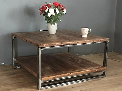 coffee table/ end table / side table / industrial coffee table