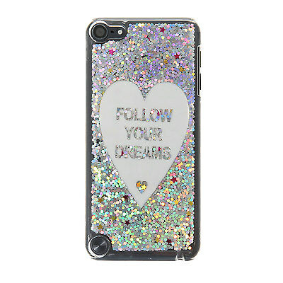 Claire's Girls and Womens Glitter Follow Your Dreams Ipod Case - Ipod Touch 5