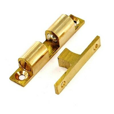 Securit S5426 Double Ball Catch Brass 42mm Pack Of 2