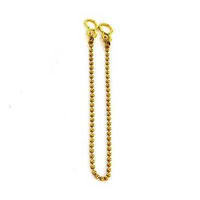 Securit S6845 Sink Chain Ball Brass 300mm Pack Of 1