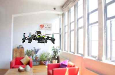 Parrot Mambo Quadcopter Mini Drone with Cannon Shooting Control with Smartphone