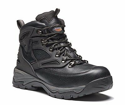 Dickies Mens Preston Safety Work Boots Size UK 6 - 12 Steel Toe Cap Hiker Boot