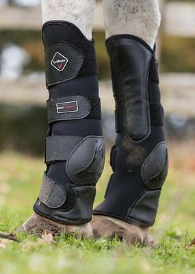 LeMieux Turnout Strong Neoprene Protection Boots - Black