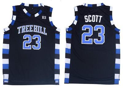 #23 Basketball Jersey One Tree Hill Thorwback Basketball Jersey Embroidery