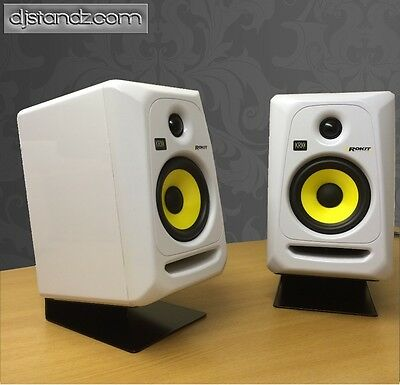 Monitor stand single pair £39.99 to suit KRK monitor or similar BLACK  dj stand