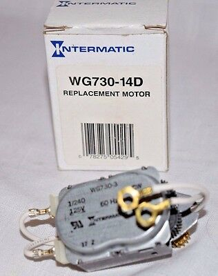 Intermatic WG730-14D 125V Time Clock Replacement Motor WG730-3