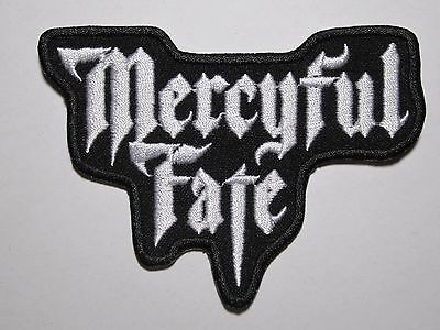 MERCYFUL FATE logo embroidered NEW patch
