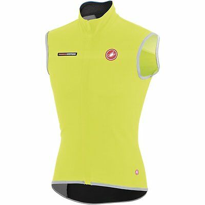 Castelli Fawesome 2 Cycling Vest Yellow Fluo 2015