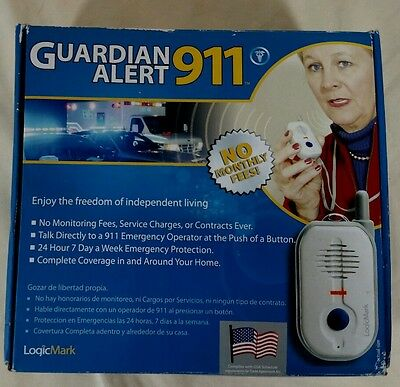 Guardian Alert 911 - Model 30511 - NO MONTHLY FEES