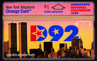 Telefonkarte USA Democratic National Convertion 1992 DNC 92 Nynex Skyline