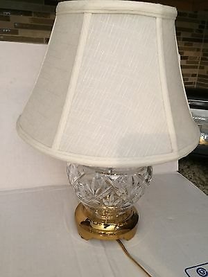 "14.5""  Waterford Crystal Table Lamp"