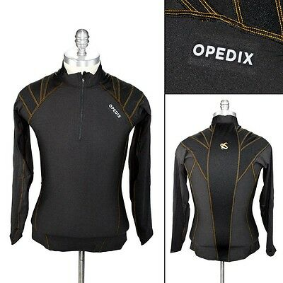 New OPEDIX by ALIGNMED Mens Zip Neck Lightweight Compression Posture Shirt NWT!