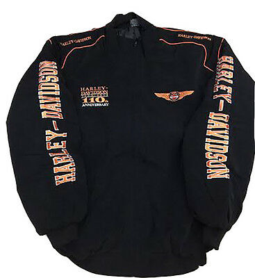 Men's harley davidson Black Jacket
